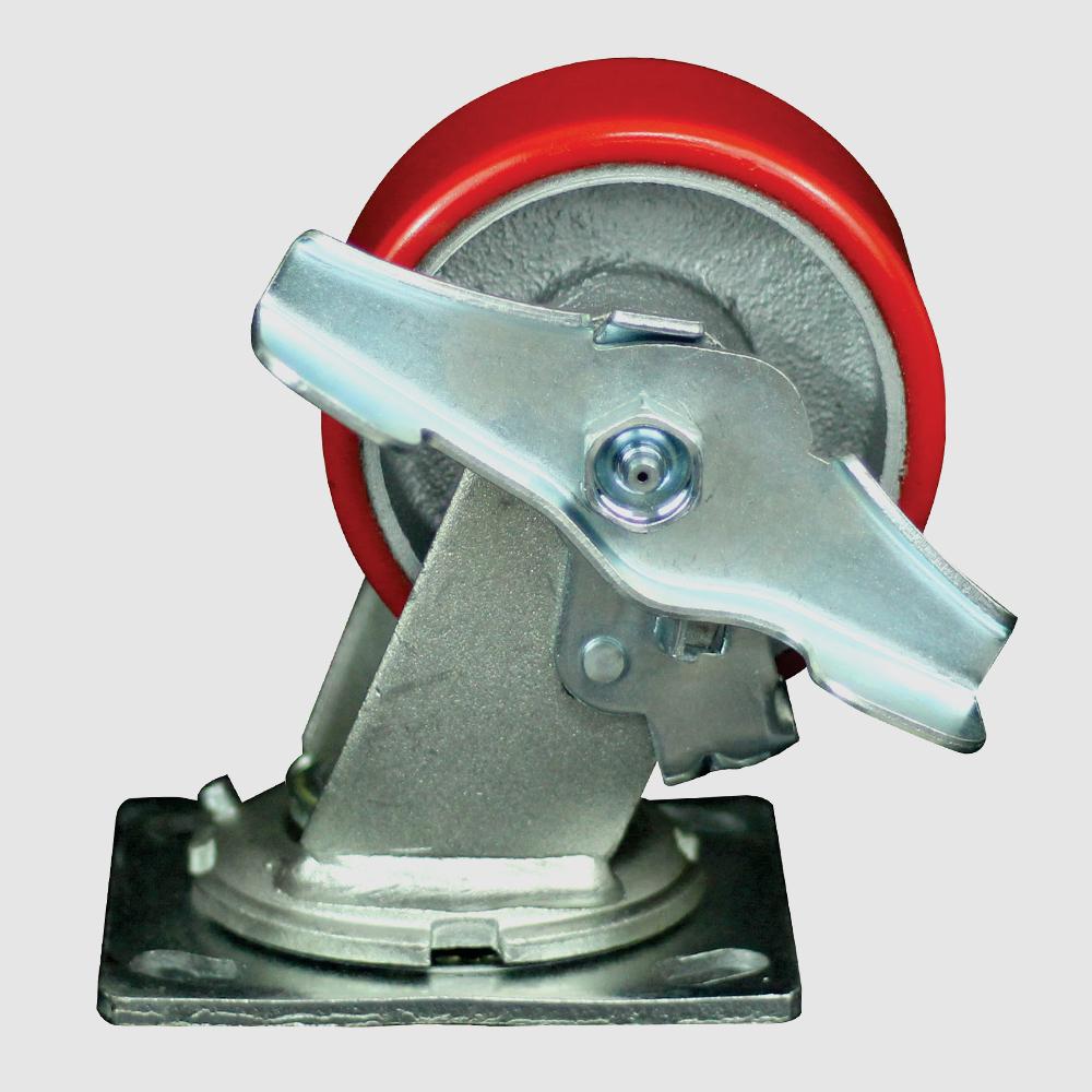rodaja-giratoria-fierro-poliuretano-freno-lateral