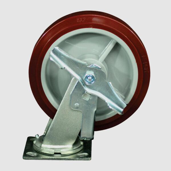 rodaja-giratoria-8x2-poliuretano-freno-lateral