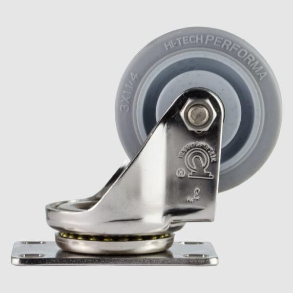 """rodaja-giratoria-3x1-1/4""""-hule-gris"""