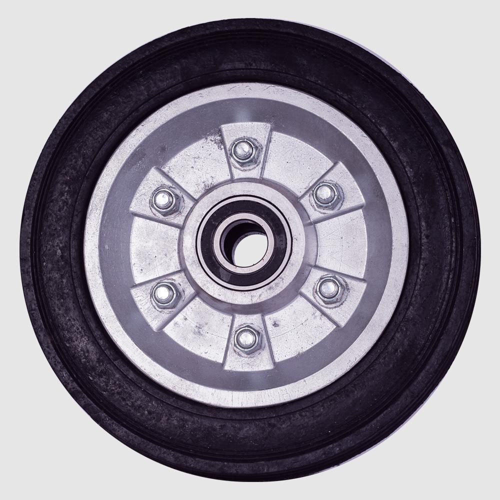 """rueda-hule-10""""-rin-aluminio"""